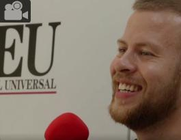 Snorri Eldjárn en entrevista para El Universal.
