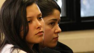 audiencia Laura Moreno y Jessy Quintero.