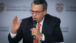 ministro de Agricultura, Rubén Darío Lizarralde,