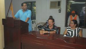 Alcalde de Cereté, Francisco Padilla, pidiendo cordura al Concejo.