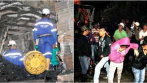 Las lágrimas y la lluvia fueron las únicas compañías de los familiares de los 12 mineros de Carbones La Cancha, que decidieron amanecer el viernes, en medio de la oscuridad y el frío, para estar atentos del rescate de sus seres queridos