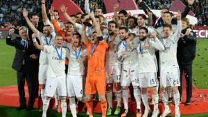 Real Madrid, campeón del Mundial de Clubes.