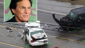 Accidente de tránsito en el que se vio involucrado Bruce Jenner.
