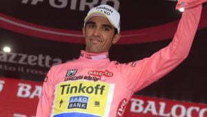 Alberto Contador con la