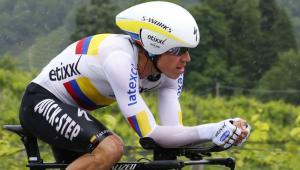 Rigoberto Urán ya es cuarto en la clasificación general del Giro de Italia.