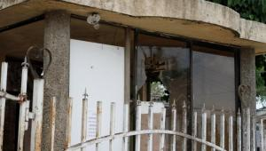 Destrozos en hospital de Turbaco por riña y asesinato de Michel Hernández.