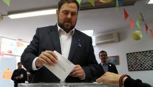 Votaciones en Cataluña.