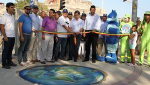 Parque del Reloj Floral, también conocido como parque del Reloj Solar fue recuperado.