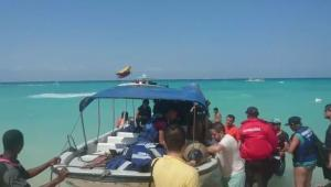 Los turistas fueron llevados ayer a las Islas del Rosario y hoy llegaron a Cartagena.
