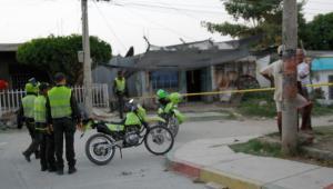 El ataque ocurrió ayer en la tarde en el sector Simón Bolívar, en el barrio San Fernando. La Policía busca a los responsable del hecho.