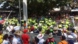 policía carnaval