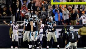 Carolina Panthers perdió ante Denver Broncos con un marcador de 24 a 10.