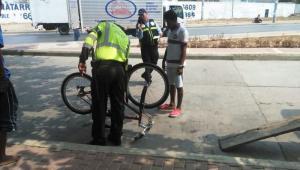 Inmovilización de bicicletas
