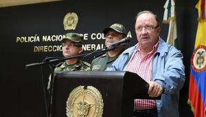 ministro de defensa, Luis Carlos Villegas,