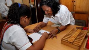 Enseñanza de Braille