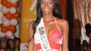 Leydy Palacios, exreina capturada porque pertenecería a banda de fleteros en Cartagena.