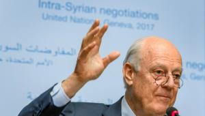 Embajador de la ONU en Siria, Staffan de Mistura