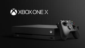 Xbox One X es la primera consola de videojuegos del mercado en reproducir contenido a 4K y con ella se lanza la retrocompatibilidad absoluta con juegos desde la primera generación de Xbox hasta la última.