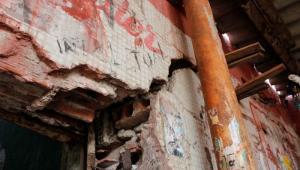 Mal estado de infraestructura del Mercado de Bazurto