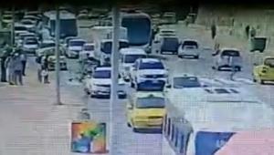 Accidente en el Centro en el que murió el turista Abel Moreira.