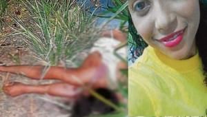 Leidis Torres Caballero, asesinada en Santa Rosa de Lima por su exmarido, un menor de 17 años.