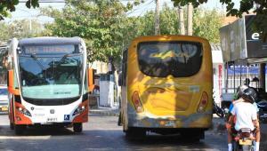 Transcaribe en la avenida Pedro Romero