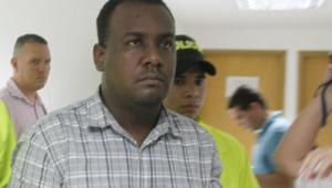 Andrés Diaz, expolicía condenado por el asesinato de Kellys Zapateiro.