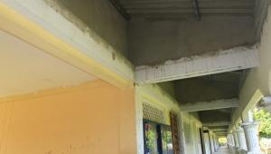 Reparaciones en techo de la IE Fernández Baena