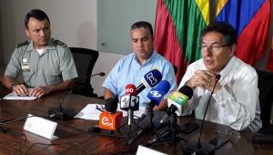Rueda de prensa Operación Vesta