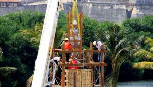 India Catalina es traslada a Puerto Duro, en Cartagena.