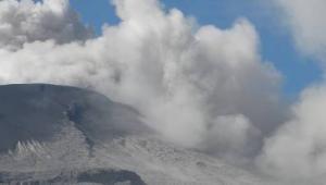 La actividad del Nevado del Ruiz ha mostrado en las últimas horas una disminució