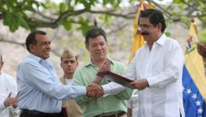 Se firma Acuerdo de Cartagena: Zelaya puede regresar a Honduras.