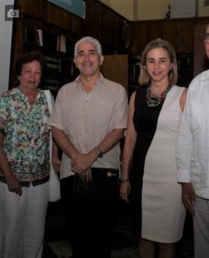 Ramón Del Castillo, Mayito Trucco de Del Castillo, Jaime Bonet Morón, María Claudia Páez y Luis Mogollón.