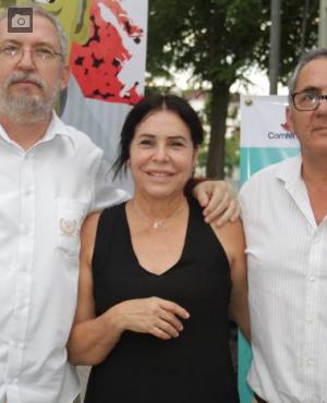 José Domingo Otero López, Beatriz López y Javier Muvdi.