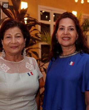 Alisira Peña y Glenys Cabarcas.