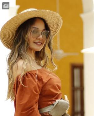 La diseñadora Gorrety Medina.