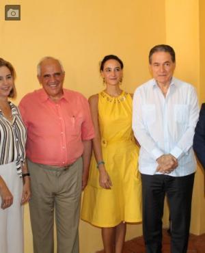 Pablo Gómez, María Claudia Páez, Ernesto Samper Pizano, Sofía Mata, Aristides Royo y Mariano Jabonero.
