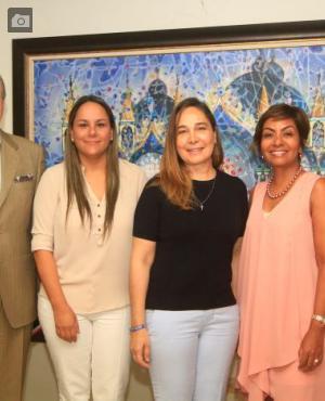María Camila Salas, María Clara Faciolince, Zully Salazar y María Claudia Páez.