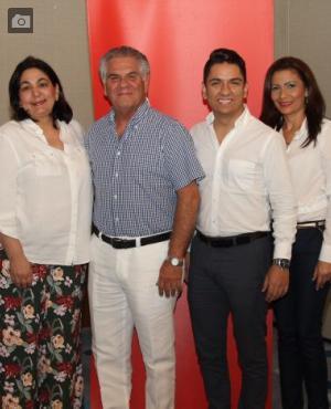 Katya Bustillo, María Claudia Gedeón, Diego Espinosa, Jaime Vilardy, Arleth Puello y Fabiola Espiñeira.