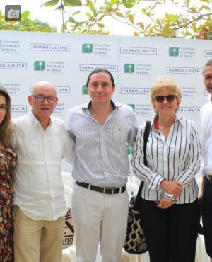 Elena De La Espriella, Alfonso Hambuerguer, Thierry Ways, María Mercedes Botero y Alberto Martínez.