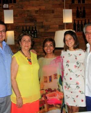 Nayib Díaz, Beatriz Dáger, Zully Salazar, Ana Camila Carrascal y Diego Espinosa.