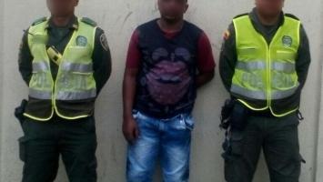 Alias 'Vicentico' fue capturado por ser el presunto homicida de Hendri Pérez, en un hecho que ocurrió en La Esperanza.