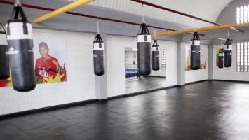 gimnasio de boxeo del Centro de Alto Rendimiento de la Región Caribe