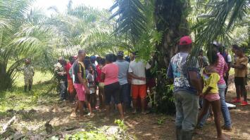 El cadáver de Julio Gazabón Serrano fue hallado en una fosa, en un sector enmontado que colinda con la parte de atrás del cementerio del corregimiento de Matuya, jurisdicción de Marialabaja.