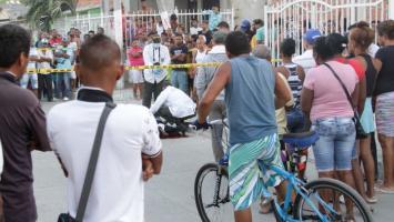 Aroldo Orozco fue baleado en el sector 11 de Noviembre de Olaya Herrera.