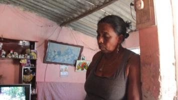 Familiar de Daniel Valdez, asesinado por pandilleros en La Candelaria.