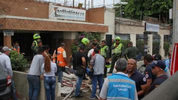 Jorge Alonso Botero y Elizabeth Quintana Acuña fueron asesinados dentro del local donde funciona una empresa en El Bosque.