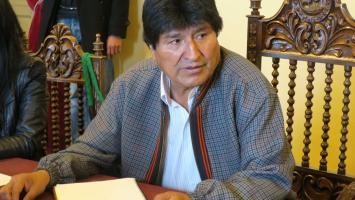 En la imagen, el presidente de Bolivia, Evo Morales.
