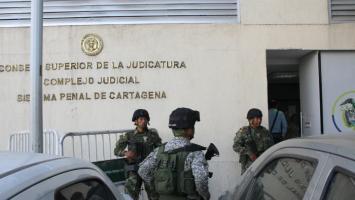 Centro de Servicios Judiciales en el Centro de Cartagena.