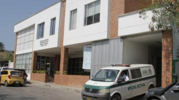 Morgue de Medicina Legal en Zaragocilla.